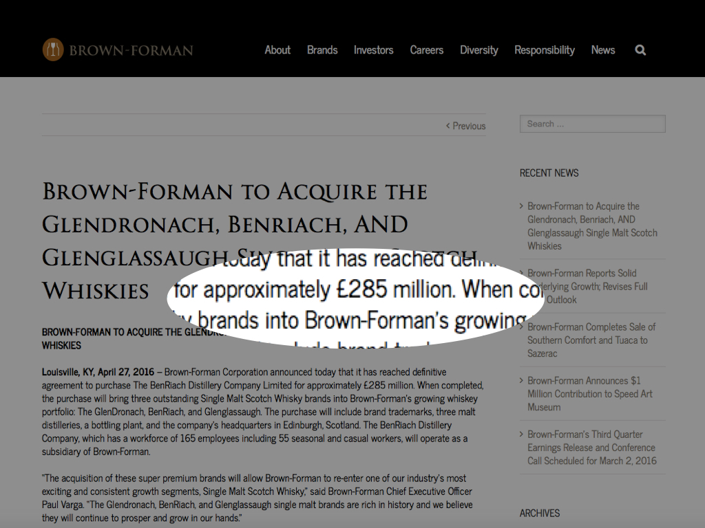 brown foreman report